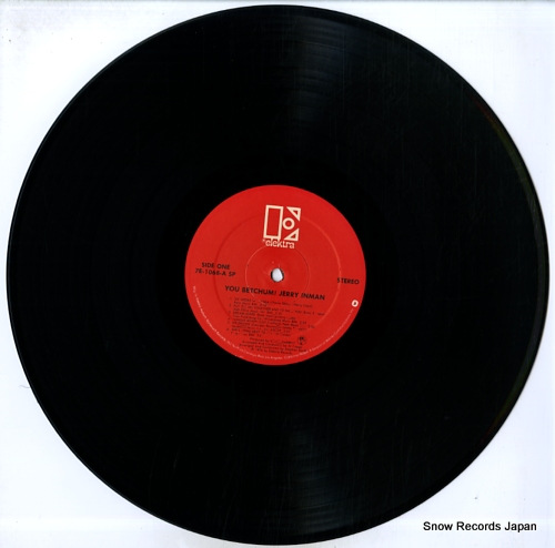 INMAN, JERRY you betchum! 7E-1068 - disc