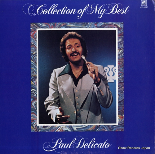 DELICATO, PAUL collection of my best AVI-6047 - front cover