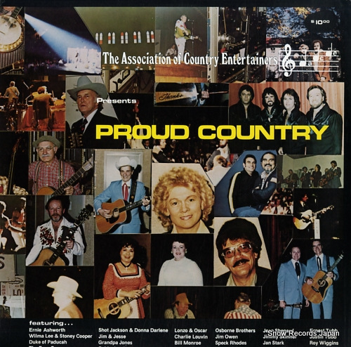 V/A proud country ACE-0001 - front cover