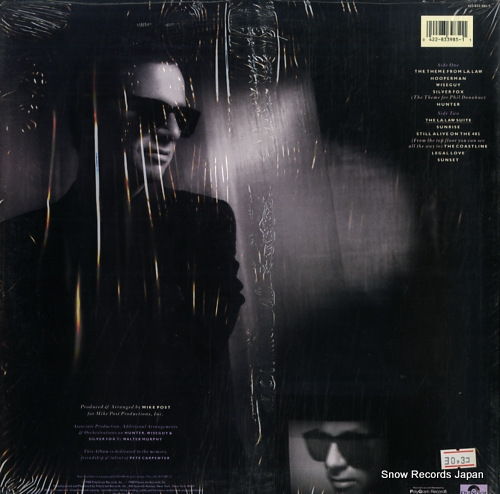 POST, MIKE music from l.a., law and otherwise 422833985-1 - back cover