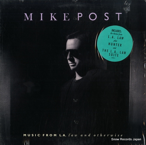 POST, MIKE music from l.a., law and otherwise 422833985-1 - front cover
