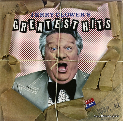 CLOWER, JERRY jerry clower's greatest hits MCA-3162 - front cover