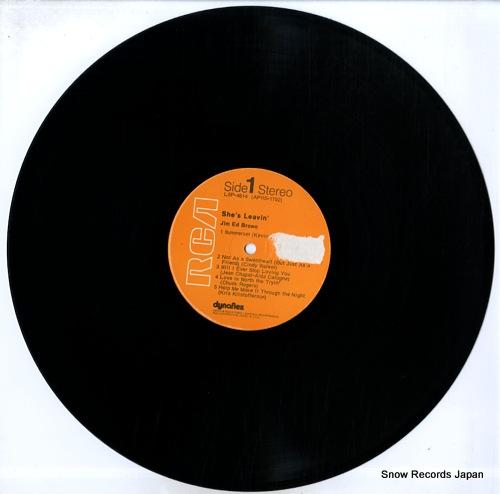 BROWN, JIM ED she's leavin' LSP-4614 - disc