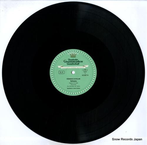 V/A friedrich schiller; balladen 43007LPMS - disc