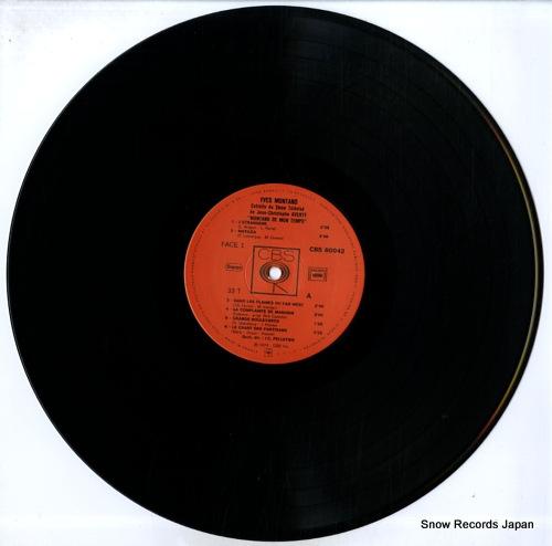 MONTAND, YVES montand de mon temps CBS80042 - disc