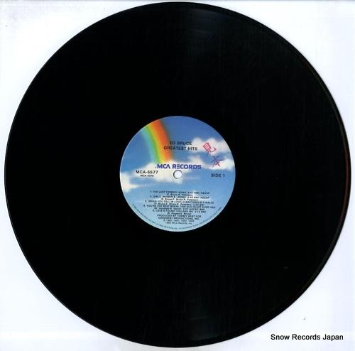 BRUCE, ED greatest hits MCA-5577 - disc