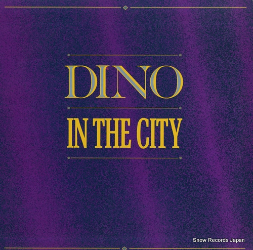 DINO in the city BWAY495 - front cover
