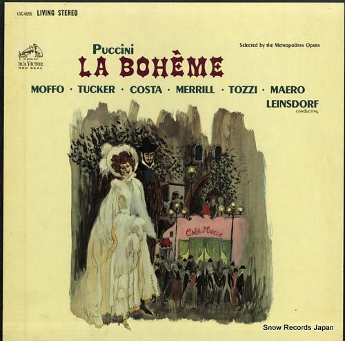 エーリッヒ・ラインスドルフ puccini; la boheme LSC-6095