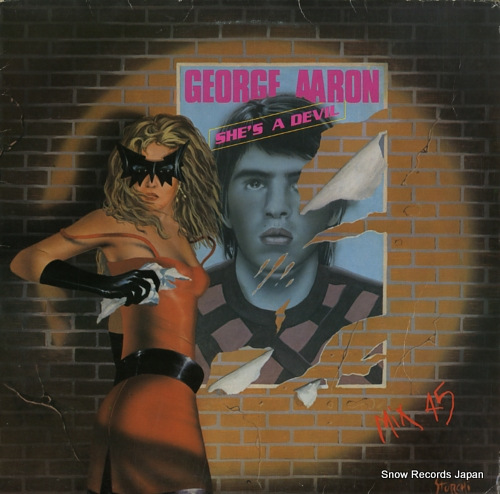 AARON, GEORGE she's a devil TPF004 - front cover