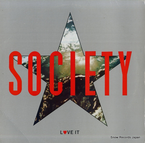 SOCIETY love it 6068-1-BD - front cover