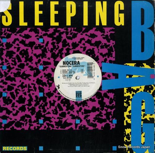 NOCERA summertime, summertime ('89 remix) SLX-40148X - back cover