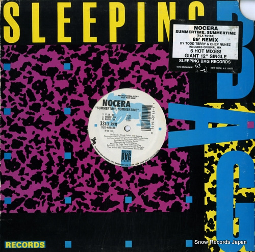 NOCERA summertime, summertime ('89 remix) SLX-40148X - front cover
