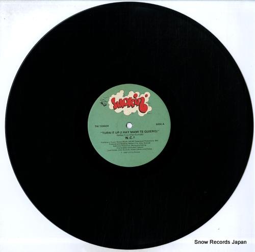 N.C.2 turn it up (i hay mami te quiero) TAI126604 - disc