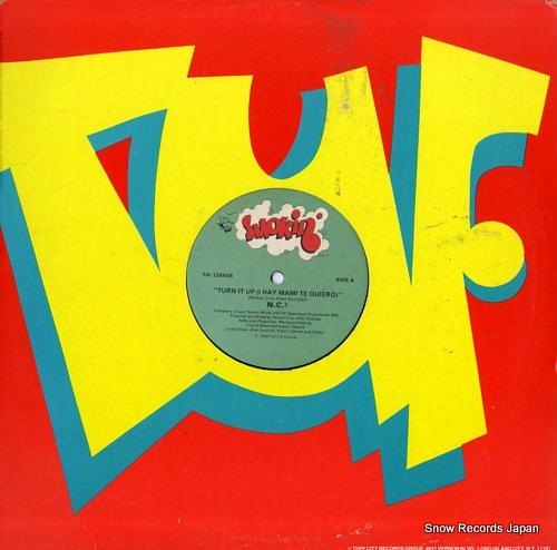 N.C.2 turn it up (i hay mami te quiero) TAI126604 - front cover