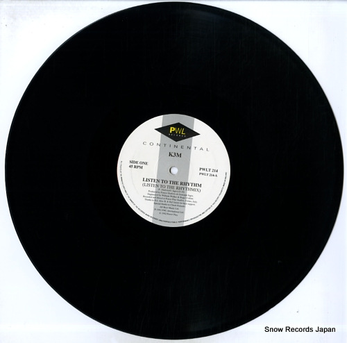 K3M listen to the rhythm PWLT214 - disc
