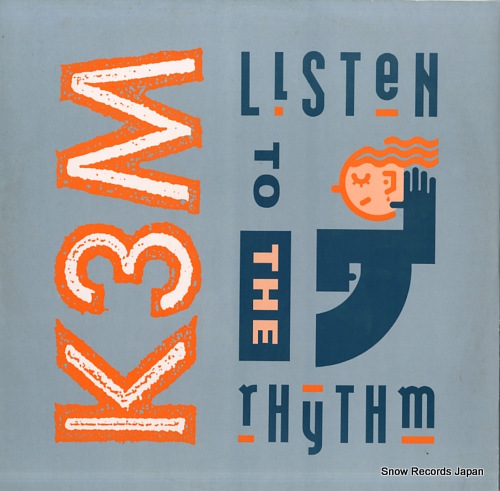 K3M listen to the rhythm PWLT214 - front cover