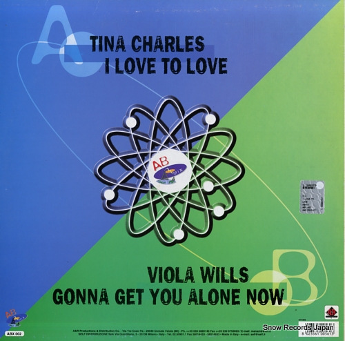 CHARLES, TINA / VIOLA WILLS i love to love / gonna get you alone now ABX002 - back cover