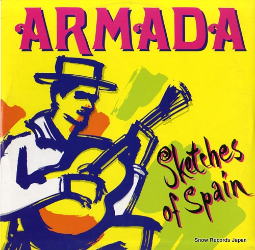 ARMADA sketches of spain 145.805-5 - front cover