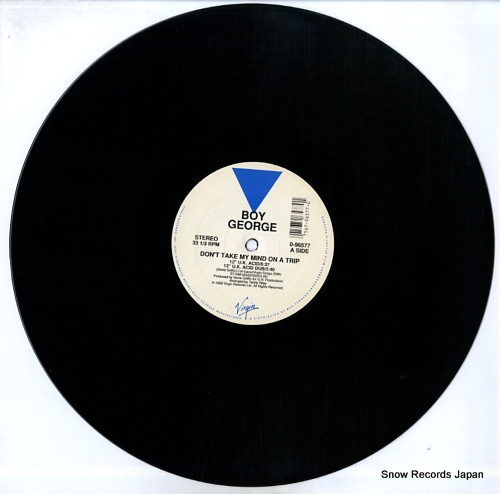 GEORGE, BOY don't take my mind on a trip 0-96577 - disc