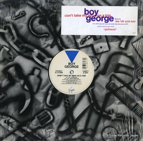 GEORGE, BOY don't take my mind on a trip 0-96577 - front cover
