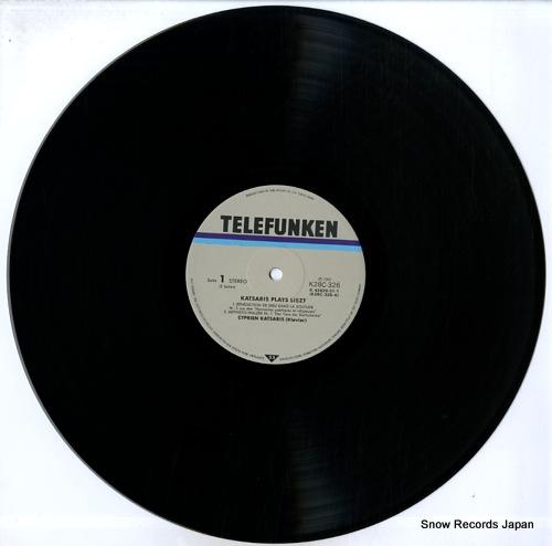 KATSARIS, CYPRIEN katsaris plays liszt K28C326 - disc