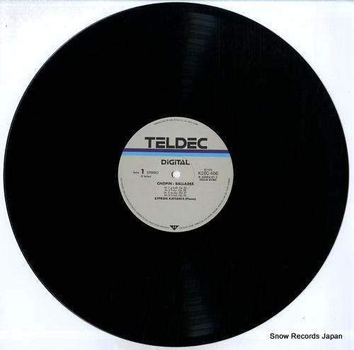 KATSARIS, CYPRIEN chopin; 4 ballades & scherzos K28C406 - disc