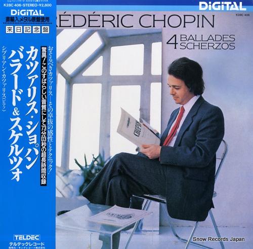 KATSARIS, CYPRIEN chopin; 4 ballades & scherzos K28C406 - front cover