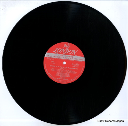 KRAUSS, CLEMENS strauss; die fledermaus SL1153/4M - disc