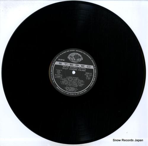 V/A min-on secondo festival della canzone italiana GXH11-12 - disc