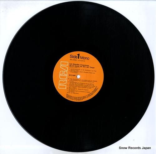 V/A las grandes creaciones de la epoca de oro del tango RA-5355 - disc