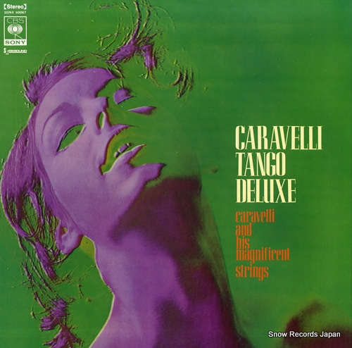 CARAVELLI AND HIS MAGNIFICENT STRINGS caravelli tango deluxe SONX60067 - front cover