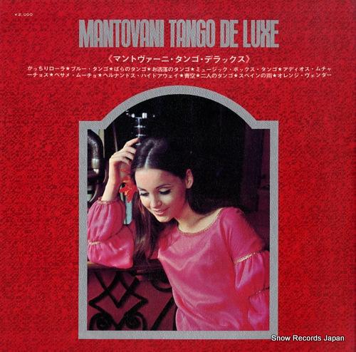 MANTOVANI AND HIS ORCHESTRA mantovani tango deluxe SLC-180 - back cover