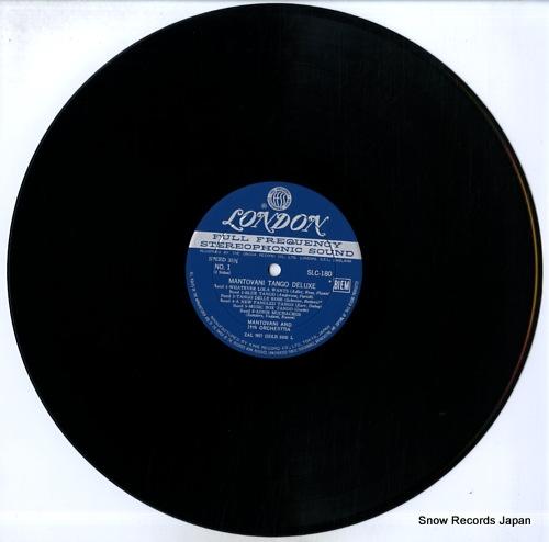 MANTOVANI AND HIS ORCHESTRA mantovani tango deluxe SLC-180 - disc