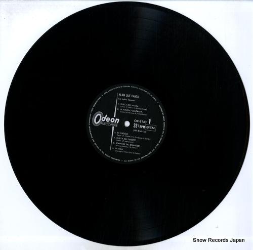 LOS INDIOS TACUNAU alma que canta OR-8140 - disc