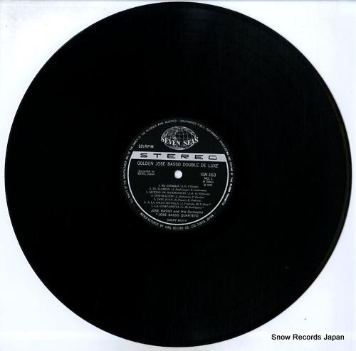 BASSO, JOSE golden jose basso double de luxe GW163-4 - disc