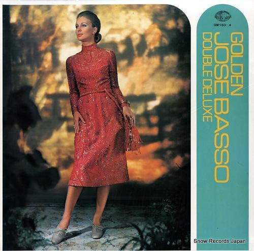 BASSO, JOSE golden jose basso double de luxe GW163-4 - front cover