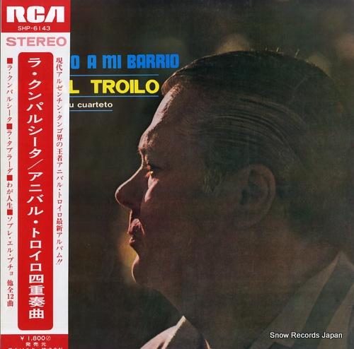 TROILO, ANIBAL nocturno a mi barrio SHP-6143 - front cover
