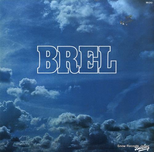 BREL, JACQUES brel 96010 - front cover