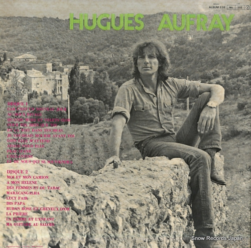 AUFRAY, HUGUES ses grands succes DISQUESFESTIVAL238 - back cover