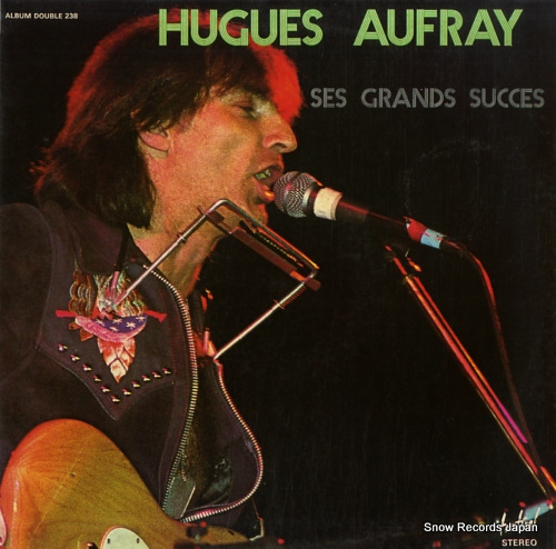 AUFRAY, HUGUES ses grands succes DISQUESFESTIVAL238 - front cover