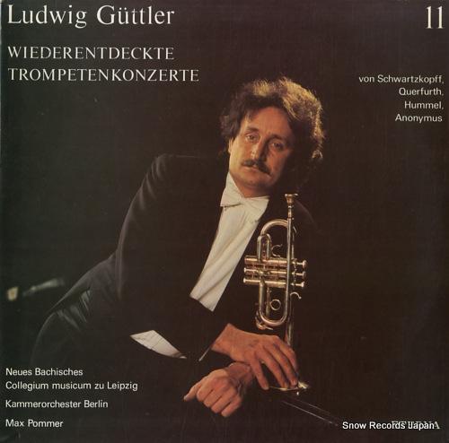 GUTTLER, LUDWIG wiederentdeckte trompetenkonzerte 827799 - front cover
