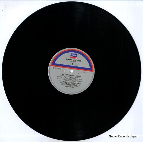 MAAZEL, LORIN verdi; la traviata L20C1829 - disc