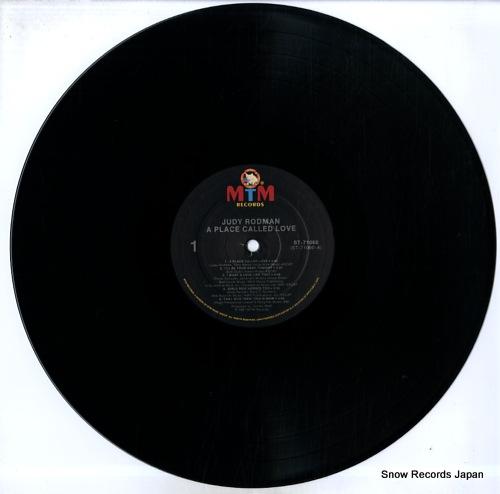 RODMAN, JUDY a place called love ST-71060 - disc