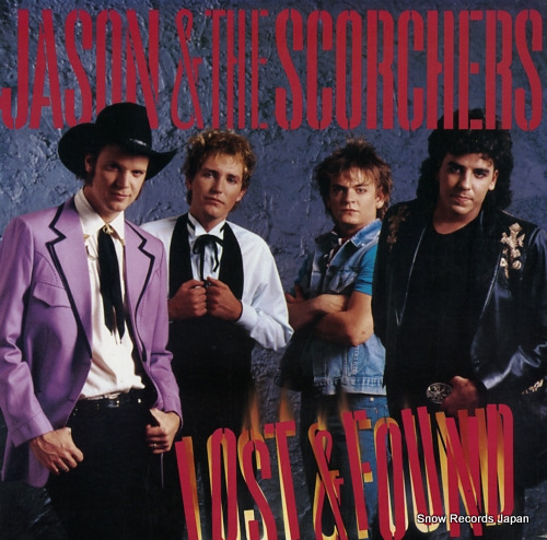 JASON AND THE SCORCHERS lost & found ST-17153 - front cover