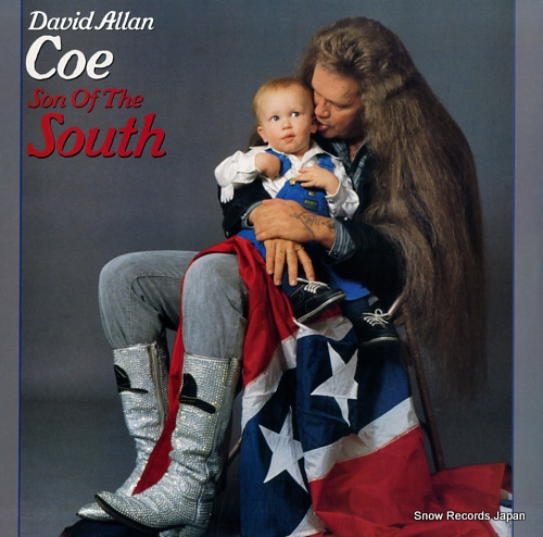 COE, DAVID ALLAN son of the south FC40346 - front cover