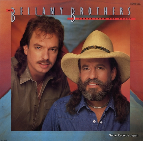 BELLAMY BROTHERS, THE crazy from the heart MCA-42039 - front cover