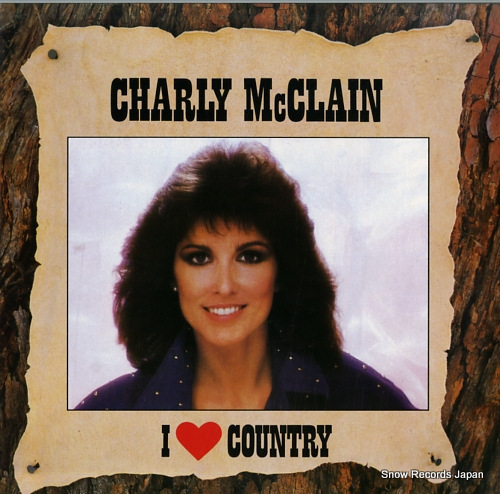 MCCLAIN, CHARLY i love country EPC4504251 - front cover