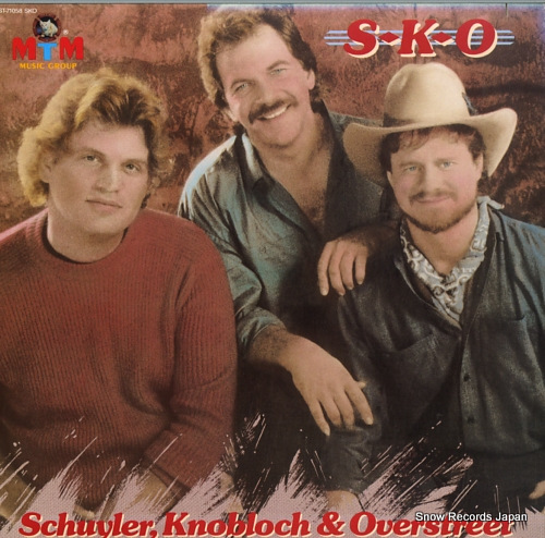 SCHUYLER, KNOBLOCH AND OVERSTREET s-k-o ST-71058 - front cover