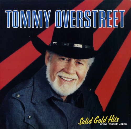 OVERSTREET, TOMMY solid gold hits BDL1063 - front cover