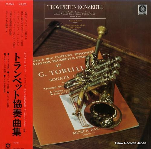 GIITTLER, LUDWIG trompeten konzerte ET-3045 - front cover